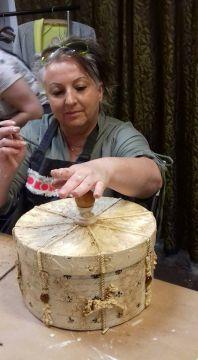Beata Molenda, właścicielka pracowni Pasje Bagi jest wystawcą podczas Kiermaszu Świątecznego w Centrum Kongresowym Targów Kielce