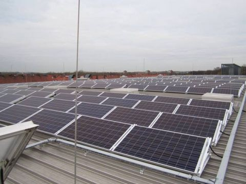 Panele fotowoltaiczne firmy B&K Solare Zukunft będą prezentowane na targach ENEX