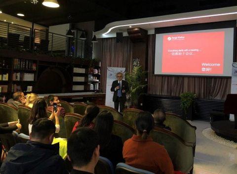"""Targi Kielce były jedną z siedmiu firm, które zaprezentowały się podczas seminarium zorganizowanego przez magazyn """"Sail by Exhibition"""""""