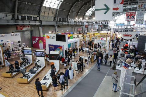 KIDS 'TIME - already 9 expo halls serve as a showcase - H and I halls have a part of the expo floor since last year