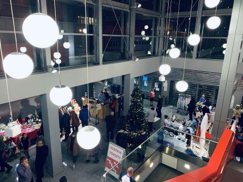 Kiermasz Świąteczny trwa w Centrum Kongresowym Targów Kielce.