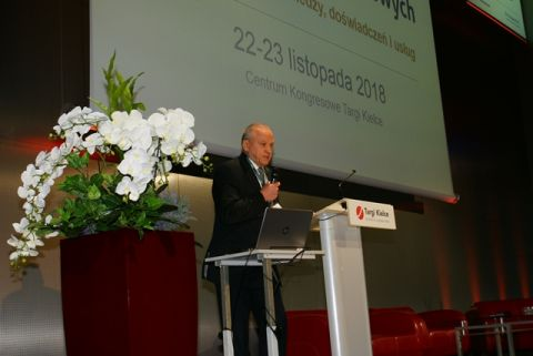 Wystąpienie Jerzego Konieckiego podczas Ogólnopolskiego Kongresu Biur Rachunkowych