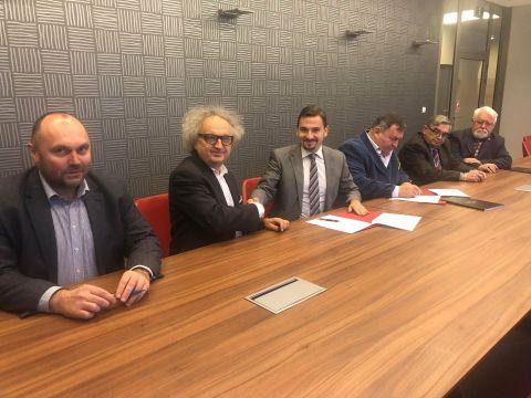W imieniu Stowarzyszenia list intencyjny w sprawie wspólnej organizacji NECROEXPO 2019, dokument podpisywali między innymi: Sebastian Rubin, prezes SPIP, z ramienia Targów Kielce – prezes Zarządu dr Andrzej Mochoń.