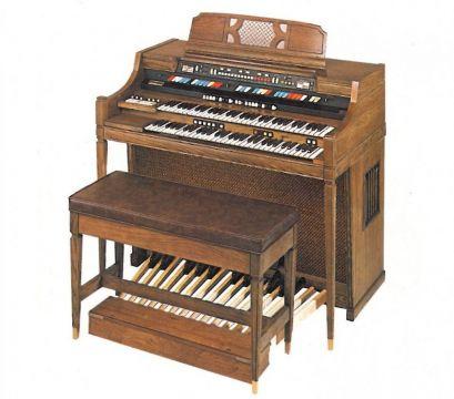 elektryczne organy Hammonda