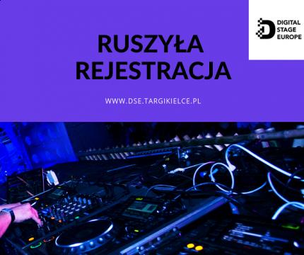 Ruszyła rejestracja na Digital Stage Europe. Zapraszamy!