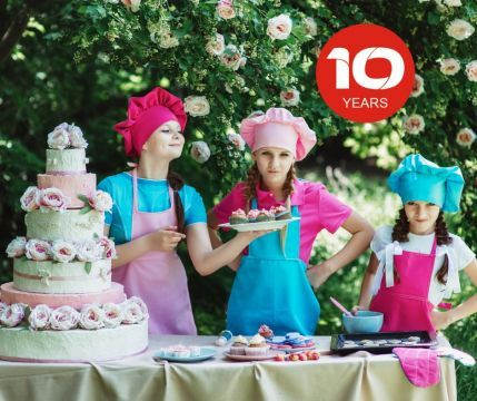 CELEBRATE WITH - KIDS' TIME'S 10th ANNIVERSARY!
