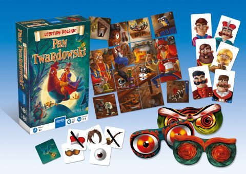 The Kids' Time 2019 offers the possibility to play board games, including the Pan Twardowski by  Granna
