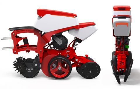 CHRONO - PREMIERE PRESENTATION OF THE POINT SEEDER WITH SEEDING SECTIONSAT THE AGROTECH