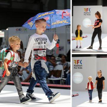 Podczas pierwszej edycji Targów Kontraktacyjnych Odzieży i Tekstyliów Dziecięcych profesjonalne pokazy mody wzbudziły największe zainteresowanie wśród zwiedzających.