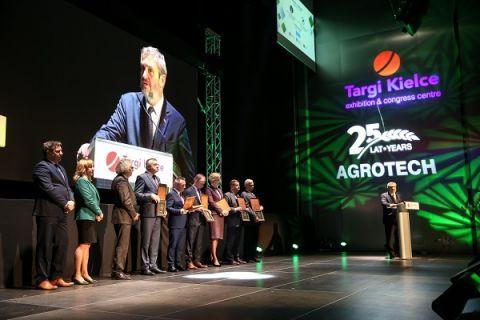 Tradycyjnie podczas targów przyznano m.in. Puchar Ministra Rolnictwa i Rozwoju Wsi oraz statuetki DOBROSŁAW