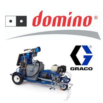 Podczas wystaw poświęconych infrastrukturze drogowej w Targach Kielce, Domino, oficjalny dystrybutor urządzeń Graco zaprezentuje, m.in. malowarki do oznakowania cienkowarstwowego oraz grubowarstwowego, a także frezarki.