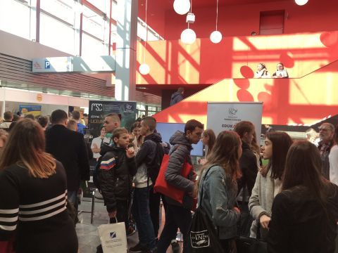 THE SCHOOLS AND HIGHER EDUCATION INSTITUTIONS FAIR AT TARGI KIELCE  - THE RECORD BREAKING EDITION