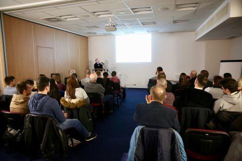 The laser processing seminar enjoys great interest of guests STOM-LASER