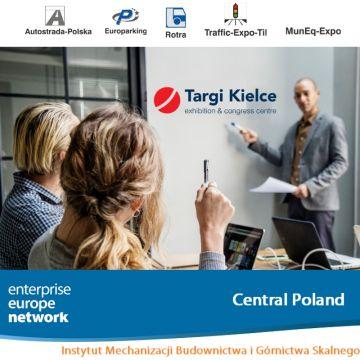 Spotkania Brokerskie odbędą się 14 maja podczas targów budownictwa infrastrukturalnego w Targach Kielce