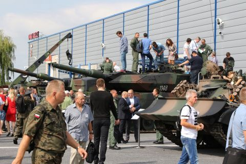 The Armed Forces Exhibition during the MSPO 2018 Open Days in Targi Kielce  attracted 16 thousand people