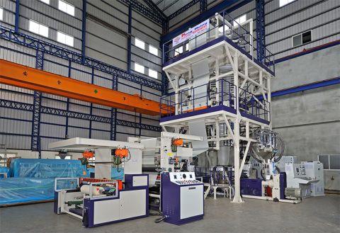 Tajwańska firma Kung Hsing zaprezentuje w tym roku na targach PLASTPOL w Targach Kielce, między innymi, ekstruder KS- FLL65 do produkcji folii z biomateriału.