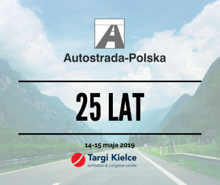 AUTOSTRADA-POLSKA, and its accompanying trade fairs: ROTRA, TRAFFIC-EXPO - TIL  and the Europarking are staged from 14 to 16 May at Targi Kielce