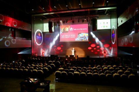 W uroczystości otwarcia IFRE-EXPO wzięli udział także Komendanci Miejscy i Powiatowi