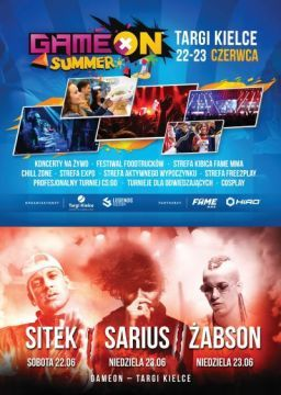 GAMEON SUMMER - ALREADY THIS WEEKEND IN TARGI KIELCE