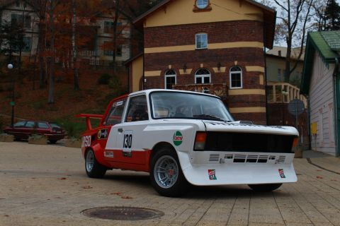 THE LEGENDARY RACING-CAR: FIAT 125 GTJ SHOWCASED IN TARGI KIELCE