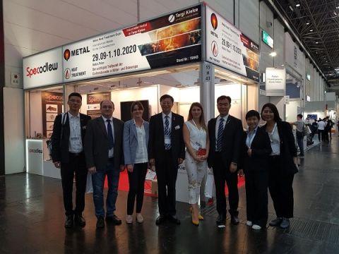 Reprezentacja Targów METAL spotkała się w Niemczech z Chińskim Stowarzyszeniem Odlewniczym