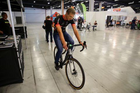 Strefa testowa rowerów podczas ubiegłorocznej edycji KIELCE BIKE-EXPO 2018.