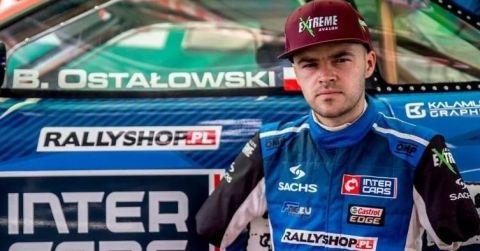Bartek Ostałowski, jedyny na świecie drifter prowadzący auto stopami