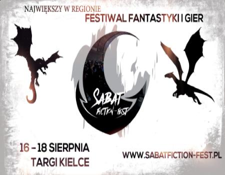Sabat Fiction-Fest już po raz szósty w Targach Kielce