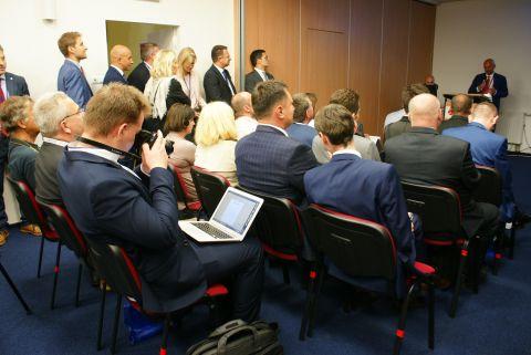Na konferencji pojawiło się wiele osób