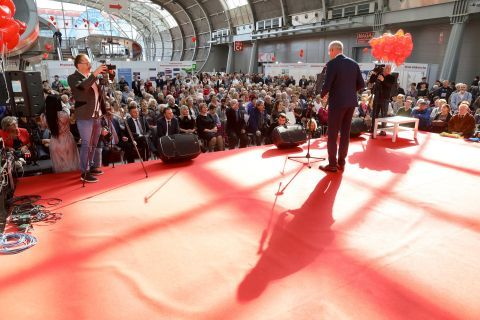THE 1ST  INTERNATIONAL SENIOR EXPO COMMENCES IN KIELCE