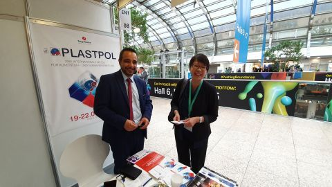 International Plastic and Rubber Fair in Düsseldorf