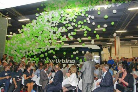 Premiera autobusu Solaris InterUrbino podczas targów TRANSEXPO 2009