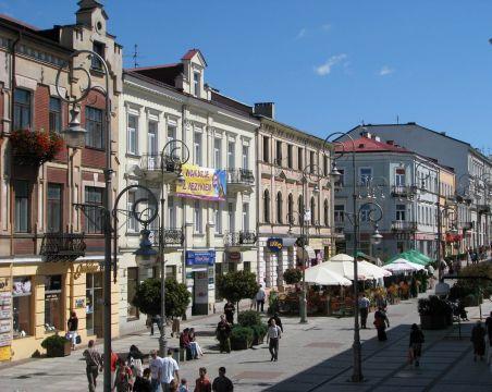 Kielce - ulica Sienkiewicza