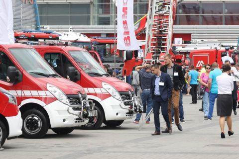 Targi pożarnicze w Targach Kielce zwiedziło w 2016 roku ponad 8 600 gości