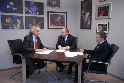 Spotkanie Prezesa Targów Kielce  z Zarządem SIT Polska