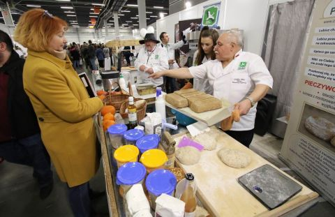 One of the masters who will be here for Eco-Style live cooking presentations of delicious bread -  Czesław Meus is baking master, a member of the Polish Ecology Association
