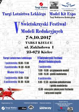 więtokrzyski festiwal modeli redukcyjnych - plakat