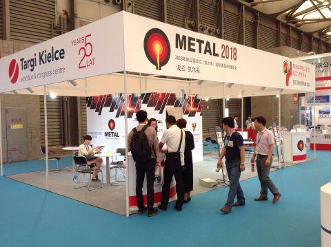 Stoisko targów METAL i Stowarzyszenia Technicznego Odlewników Polskich cieszyło się zainteresowaniem zwiedzających