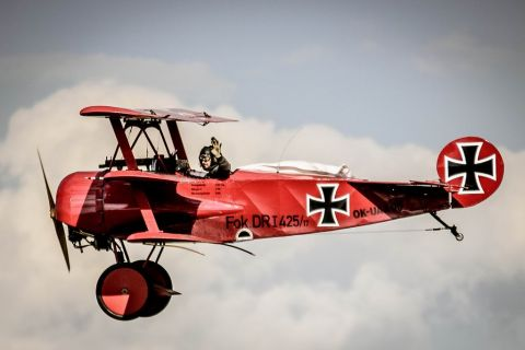 czy nas lot - Czerwony Baron