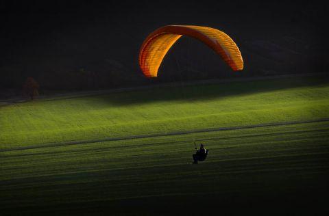 czy nas lot - Sunset fly