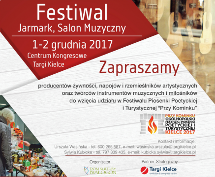 Festiwal, jarmark, salon muzyczny Przy Kominku