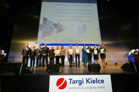 Laury Mistrza Nowoczesnej Edukacji po raz pierwszy wręczono podczas II Forum Nowych Technologii i Innowacji w Edukacji i Nauce