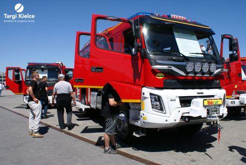 ifre 2018 - pojazdy strażackie