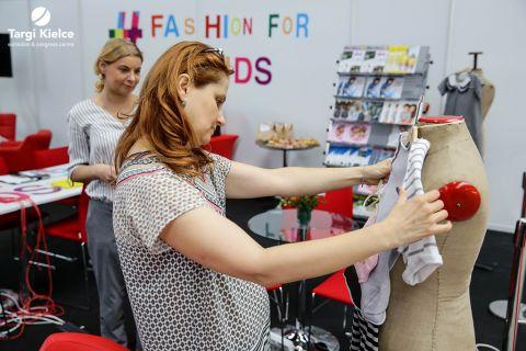 Strefa projektantów mody dziecięcej na fashion for kids