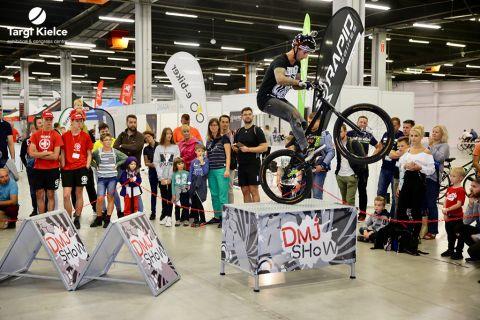 pokazy na targach rowerowych kielce bike-expo