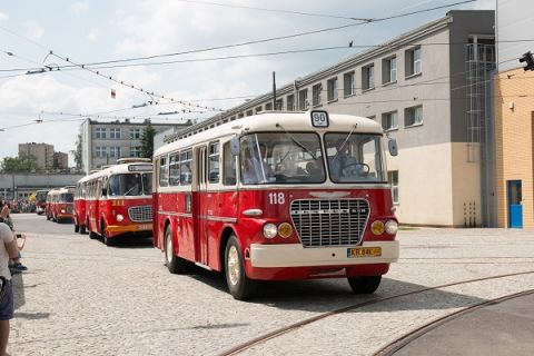THE 4TH CHAMBER OF URBAN TRANSPORT'S EXHIBITION - VINTAGE BUSES
