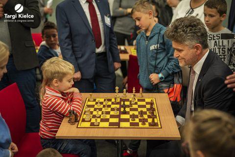 turniej szachowy podczas kongresu edukacji