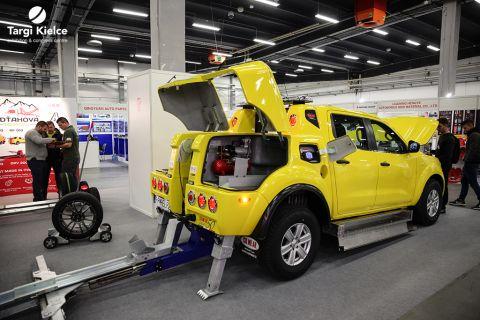 holowanie pojazdów, pomoc drogowa, assistance na targach hol-expo