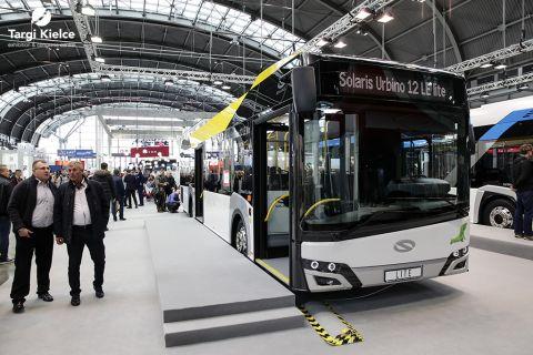 autobusy na targach transportu zbiorowego transexpo
