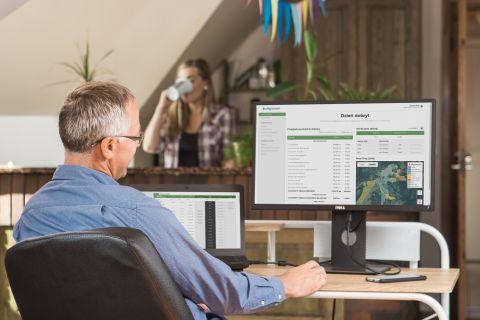eAgronom z nową funkcją wspierającą przygotowanie planu nawożenia azotem na targach AGROTECH